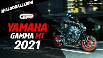 Moto - News: Yamaha: per il 2021 gamma MT profondamente rinnovata, a cominciare dal nuovo CP3