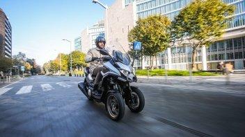 Moto - Scooter: Kymco CV3: arriva il tre ruote sportivo su base AK550.Lo vedremo nel 2021, foto