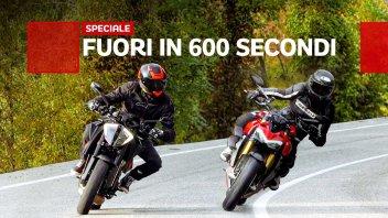 Moto - Test: Ducati Streetfighter V4S vs KTM 1290 Super Duke R: qual è la migliore?