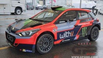 MotoGP: Monza Rally: ecco la Hyundai i20 con cui correrà Franco Morbidelli