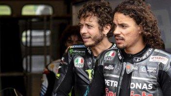 MotoGP: Franco Morbidelli sulla scia di Valentino Rossi al Monza Rally