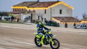 MotoGP: Valentino Rossi: un Natale di traverso al Ranch