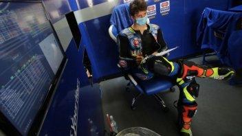 """SBK: Locatelli: """"Passare in SBK è meno difficile del debutto in Moto2"""""""