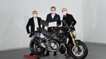 Moto - News: Ducati Monster: siamo a 350.000 esemplari prodotti!