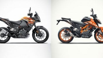 Moto - News: KTM 490 Duke e Adventure 2022: in India le immaginano così