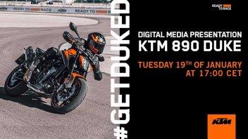 Moto - News: KTM 890 Duke 2021: i dettagli prima della presentazione