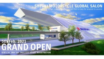 Moto - News: Suzuki Global Salon, apre il salone virtuale