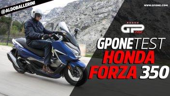 Moto - Test: Video prova Honda Forza 350 2021, tutti i dettagli dello scooter GT