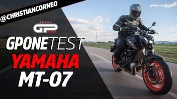 Moto - Test: Prova Video Yamaha MT-07 2021: caratteristiche e foto