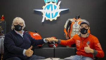 Moto2: Marcon sulla terza MV Agusta F2 del team Forward nel 2021