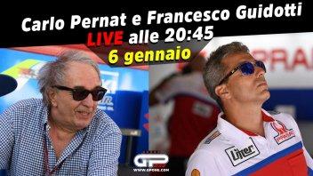 MotoGP: LIVE - Carlo Pernat e Francesco Guidotti in diretta alle 20:45 del 6 gennaio