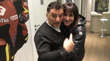 MotoGP: Gresini's wife: 'I could see Fausto through a window'