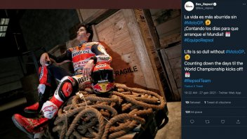 MotoGP: Marc Marquez puts his leather back on: life is so dull without MotoGP