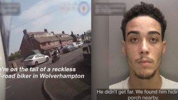 Moto - News: Pirata della strada in tempo di Lockdown: le immagini dell'inseguimento in UK