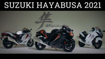 Moto - News: Ecco la Suzuki Hayabusa 2021: il falco pellegrino è pronto a volare di nuovo