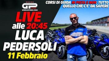 Moto - News: LIVE - Luca Pedersoli alle 20:45 - Tutto sui corsi di guida in moto