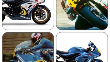 Moto - News: Suzuki Italia celebra Lucchinelli ed Uncini con la GSX-R1000R Legend Edition