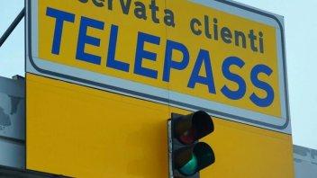 Moto - News: Telepass Family: i motociclisti, pagano meno