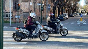 Moto - News: Piaggio Beverly 2021: continuano i test prima del debutto [FOTOSPIA]