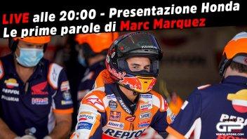 MotoGP: LIVE Pernat alle 20:00 - Honda 2021: le prime parole di Marc Marquez