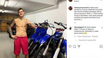 """MotoGP: Quartararo: I had Covid in December. I'm in great shape now."""""""