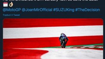 MotoGP: Joan Mir metterà il numero 1 sulla Suzuki? La risposta il 12 febbraio