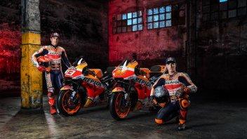 MotoGP: Tutte le foto della nuova Repsol Honda di Marquez ed Espargarò