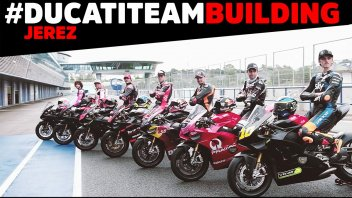 MotoGP: Ducati Team Building: gli highlights dei test a Jerez sulla Panigale V4s