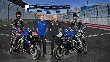 MotoGP: Vinales e Quartararo inaugurano il dopo Rossi con le nuove Yamaha 2021