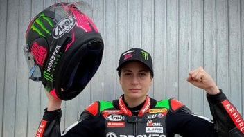 "SBK: Ana Carrasco: ""It's time for me and my Ninja to get back into shape"""