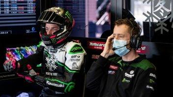SBK: La Kawasaki conferma l'infortunio di Alex Lowes
