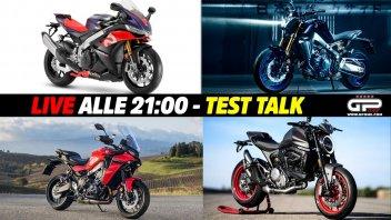 Moto - News: LIVE - Test Talk alle 21:00 - dalla Monster alla MT-09, passando per la RSV4