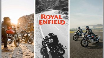 Moto - News: Royal Enfield Interceptor 650 e Continental GT 650 my 2021: le nuove colorazioni