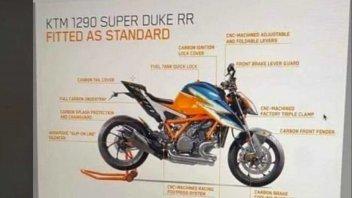 Moto - News: KTM 1290 Super Duke RR: primi test su strada