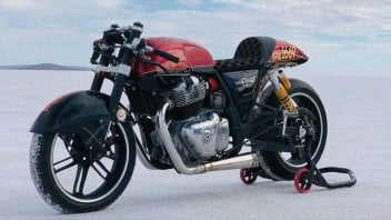 Moto - News: Royal Enfield Interceptor 650 Sabre: una special da record