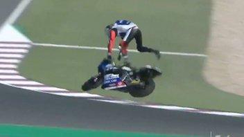 Moto2: Fractured left wrist for Baltus: Qatar GP already over for him