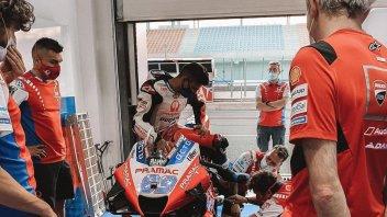 """MotoGP: Martin: """"Quando cambi la spinta del motore Ducati è impressionante"""""""