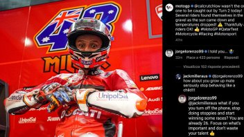 MotoGP: Lorenzo sets Miller straight: When do you turn off the phone and start winning?