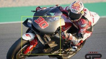 MotoGP: La guerra dell'aerodinamica: anche la Honda si ispira alla Ducati