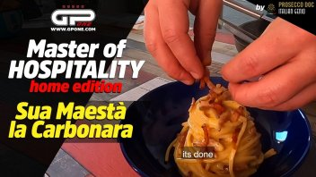 News: Master of Hospitality Home Edition: Sua Maestà La Carbonara