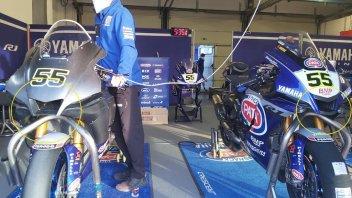 SBK: Misano: Yamaha sfoggia una nuova carena per Locatelli e Razgatlioglu