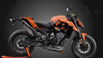 Moto - News: KTM 890 Duke Black Tech3: la naked in edizione limitata ispirata dalla MotoGP