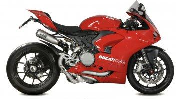 Moto - News: Più leggerezza con lo scarico Mivv Titanio per la Ducati Panigale V2