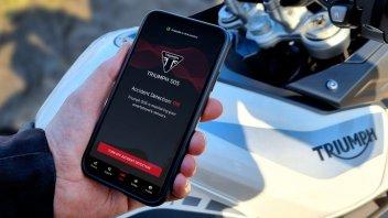 Moto - News: Triumph SOS: la app salvavita per i motociclisti
