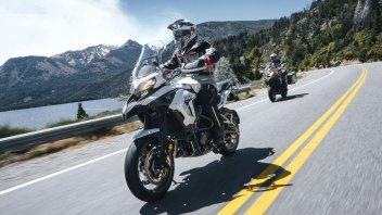 Moto - News: Benelli TRK 502 MY 2021: l'on-off pesarese arriva nelle concessionarie