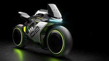 Moto - News: Segway Apex H2: arriva nel 2023 la moto ibrida elettrica-idrogeno?