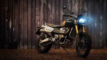 Moto - News: Triumph Scrambler 1200 Steve McQueen Edition, la moto per i King of Cool