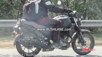 Moto - News: Yamaha XSR 250: primi test su strada in India [FOTOSPIA]