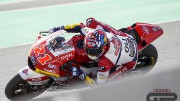 Moto2: A Losail si parla italiano: Di Giannantonio 1° davanti a Bezzecchi