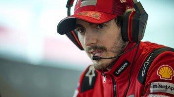 """MotoGP: Bagnaia: """"Rispetto le regole ma ci sono eccezioni: non c'era pericolo"""""""